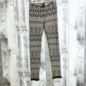 Anthropologie Pants - Anthro Odd Molly | 1 (small) | knit print leggings